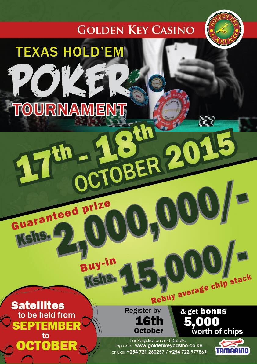 October Poker Tournament